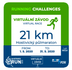 Hostivice RUN - 21 km