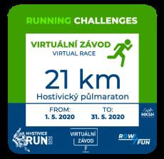 Hostivice RUN - 21 km